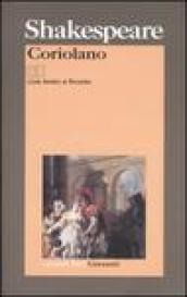 Coriolano. Testo inglese a fronte