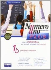 Numero uno plus. Con Sfide matematiche-Informatiche. Per la Scuola media. Con CD-ROM. Con espansione online. 1.
