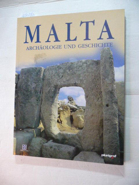 Malta - Archäologie und Geschichte - Tagliaferro, John Samut